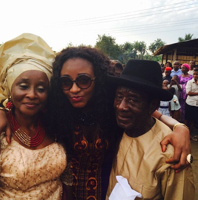 ini edo and parents