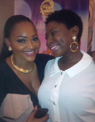 mercy aigbe  and yvonne Jegede