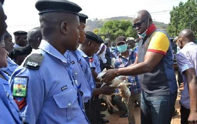 Fayose Chicken Ekiti officers