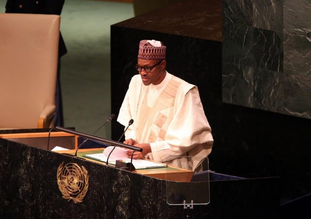 buhari at the UN